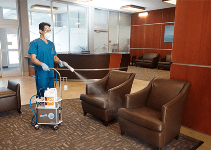 Commercial Disinfection Houston