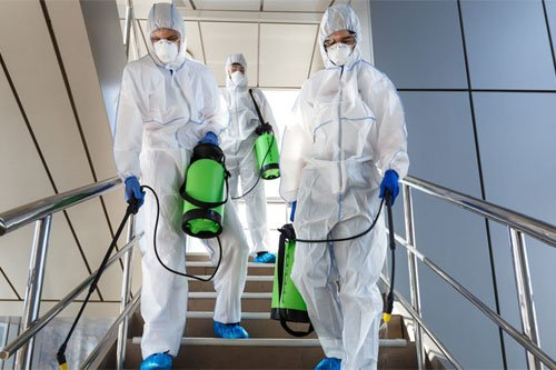 Commercial disinfection services in Houston
